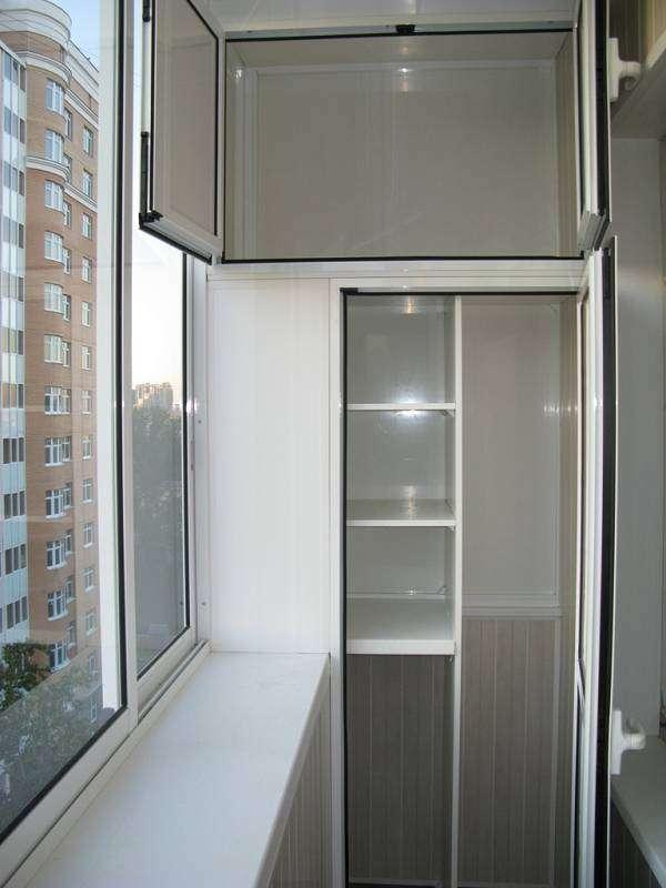 Шкафы на балкон тумбы полки