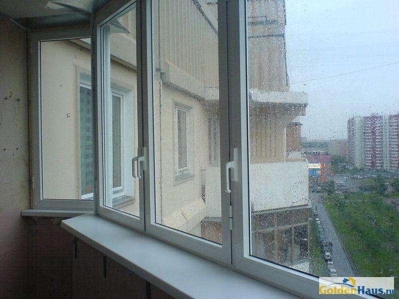 Остекление балконов алюминиевым профилем распашное балкон остекление