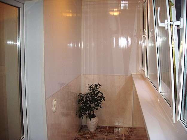 Дизайн балкона панелями пвх 29